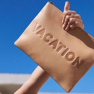 🆕 Madewell Vacation Large Clutch Oversized Pouch